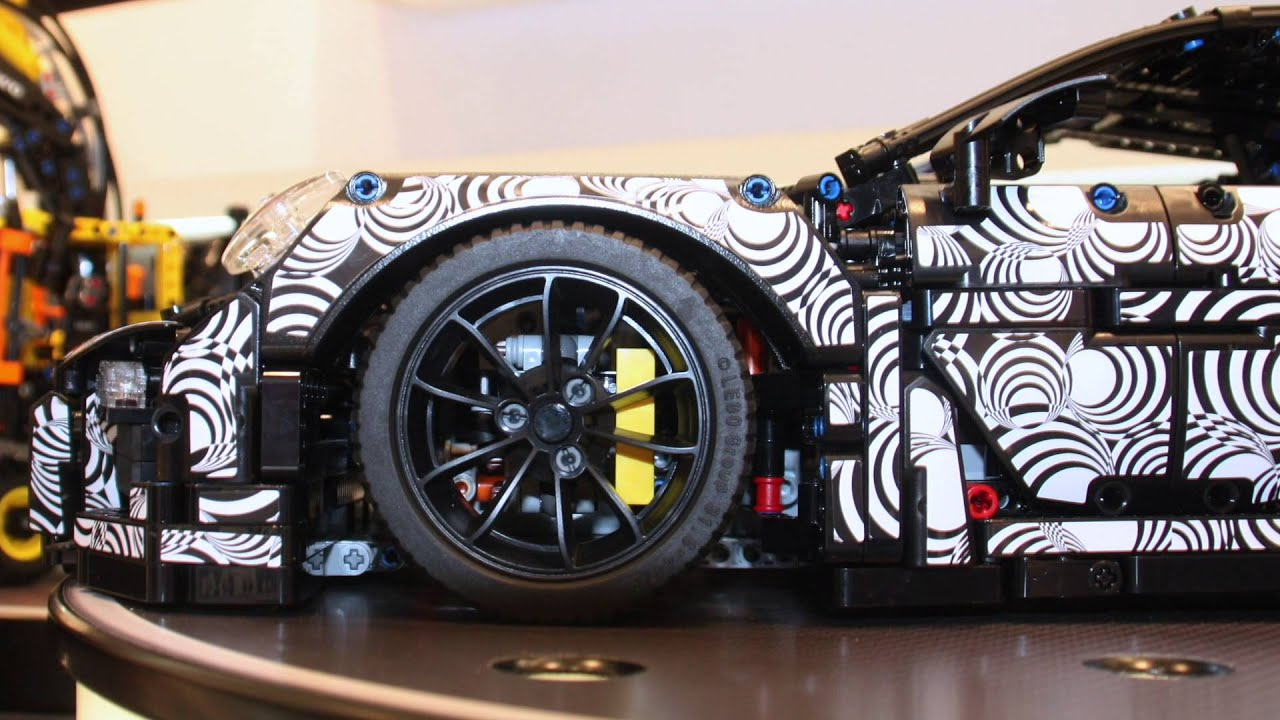 lego technic porsche 911 gt3 rs 42056 youtube. Black Bedroom Furniture Sets. Home Design Ideas
