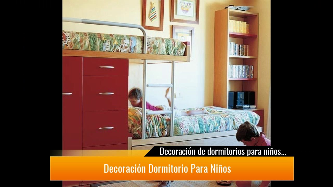Ideas s per bonitas de decoraci n de dormitorios para - Camas para ninos de dos anos ...