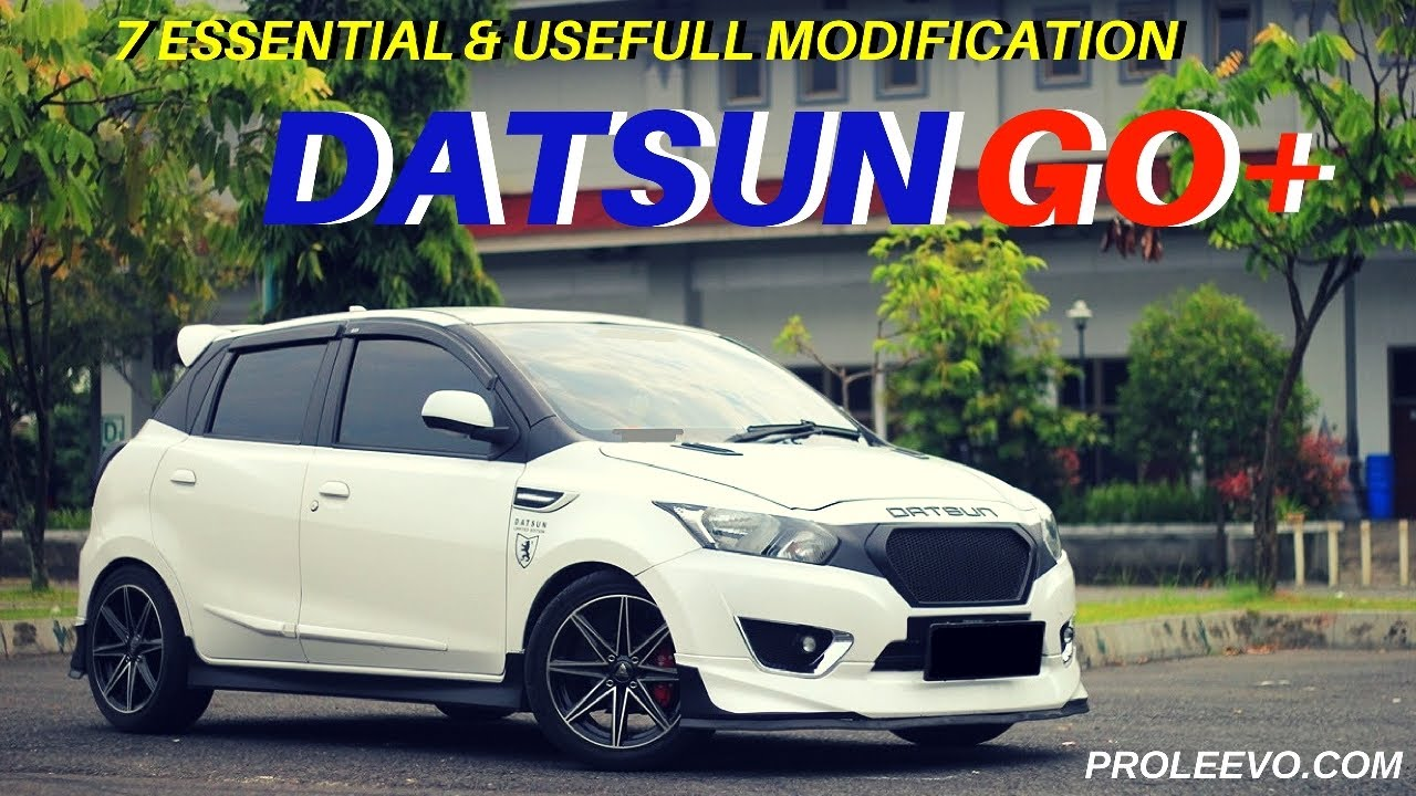 7 Modifikasi Penting Datsun Go Go 2015 Proleevo Channel YouTube