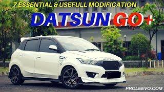 7 Modifikasi Penting Datsun Go/ Go+ 2015 | Proleevo Channel
