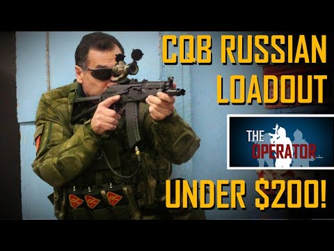GIVEAWAY! Airsoft Loadout under $200! CQB Russian Chest Rig Loadout - The Operator