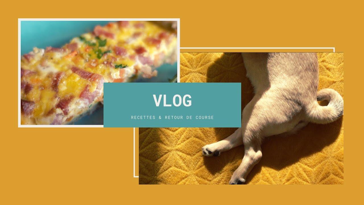 Recettes & Retour de course (Vlog relaxant)