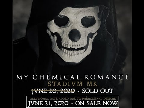 My Chemical Romance announce North American 2020 tour !