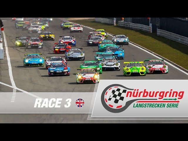 LIVE: Race 3 Nürburgring Endurance Series (NLS) 2021