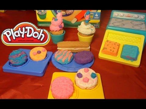 Play Mundo De pasteles Galletas cupcakesJuguetes Ninos Doh Para cS5R3ALq4j