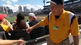 Meet the 99-year-old Pittsburgh Pirates usher