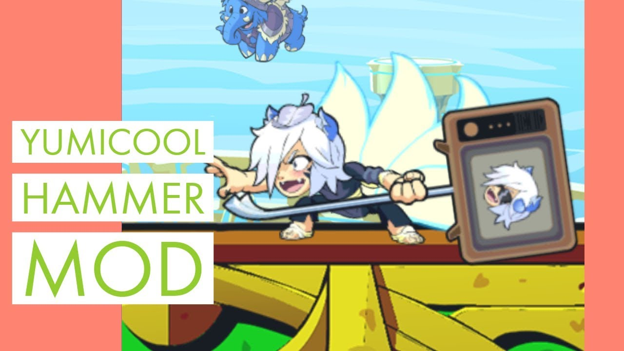 Yumicool Hammer Mod (Brawlhalla Weapon Mod Showcase)