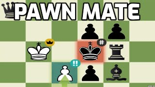 """Immortal Chess Problem """"MATE WITH JUST A PAWN"""" 