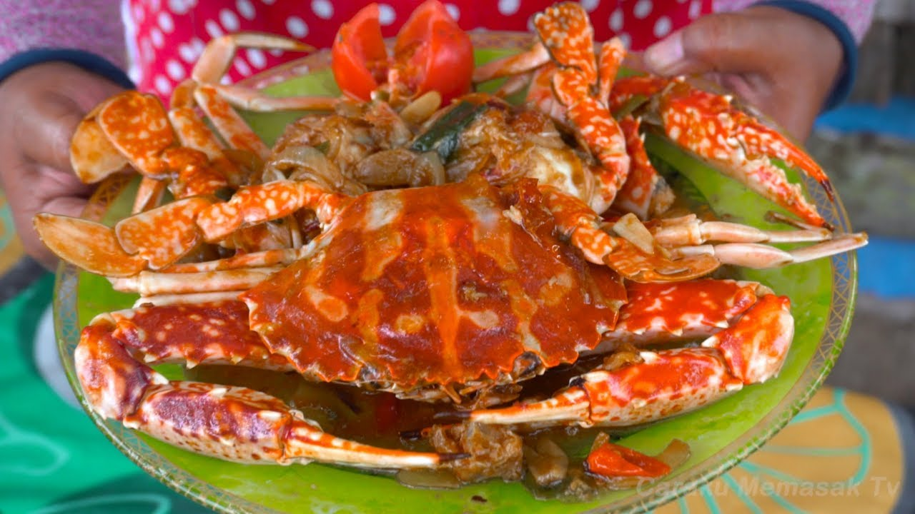 Resep Kepiting Saus Tiram Youtube