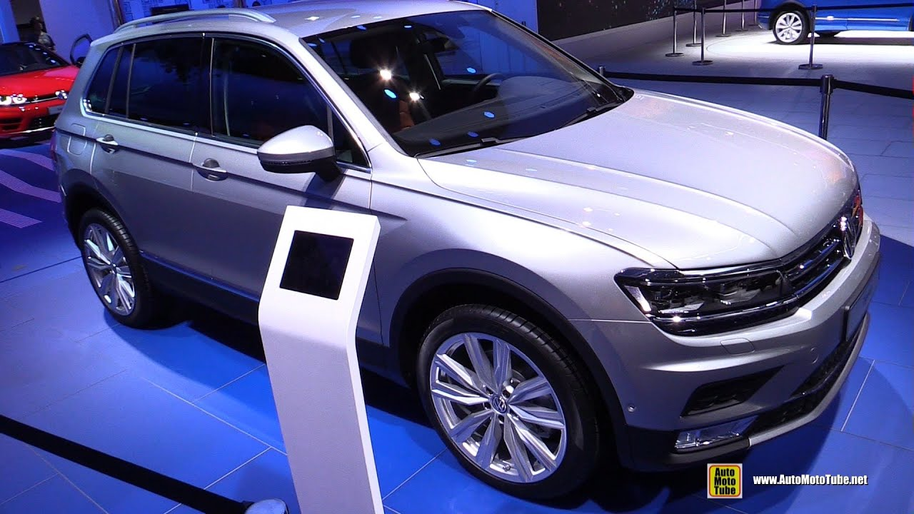 2016 volkswagen tiguan 2 0 tsi 4motion exterior. Black Bedroom Furniture Sets. Home Design Ideas