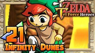 The Legend of Zelda: Tri Force Heroes - Part 21 - Infinity Dunes