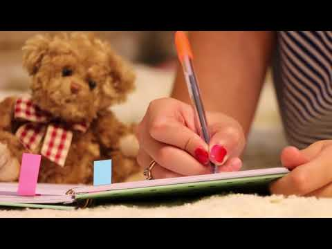 Woman Handwriting On Notebook - Free HD Stock Footage (No Copyright)