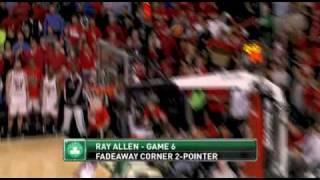 NBA PlayOff 2009: Celtics vs Bulls best moments top 10.