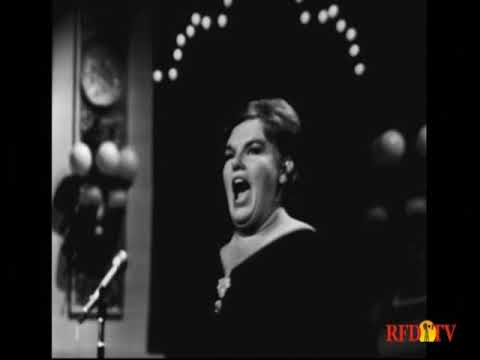 Eileen Farrell--You'll Never Walk Alone, I've Got Tears in My Ears, 1965 TV