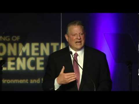 "Al Gore on ""Issuing the Next Great Challenge"" PART 1"