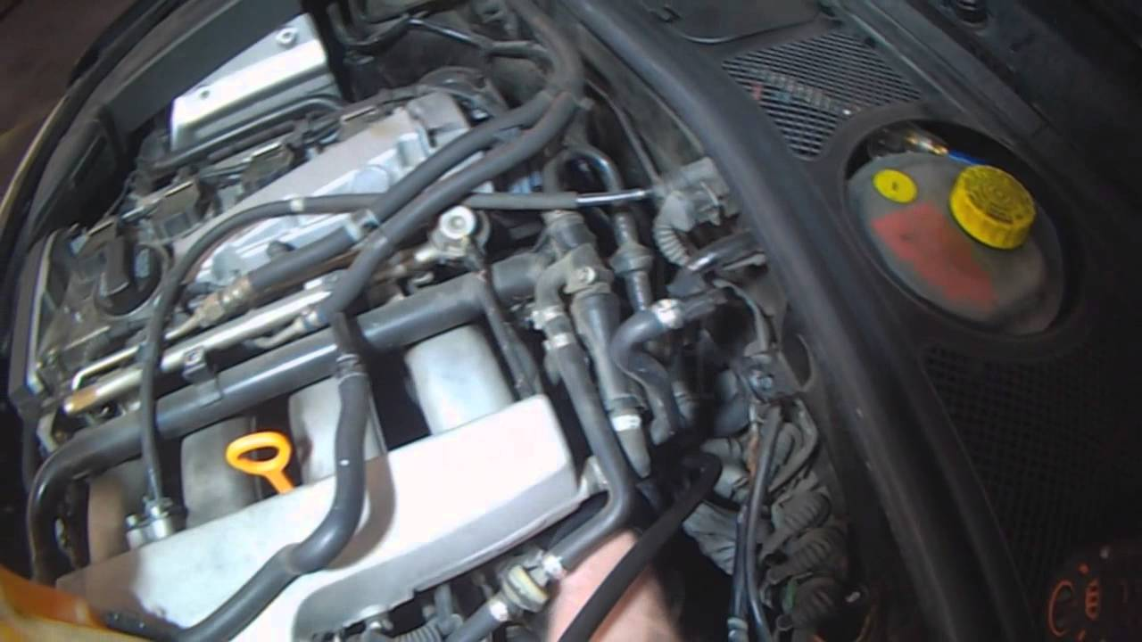 vw    audi  1 8t engine oil pressure checking