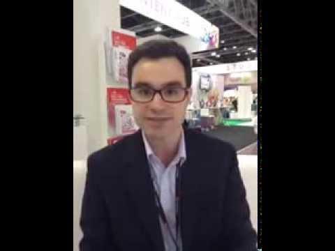 Interview of Intersec at The Gitex Dubai 2013