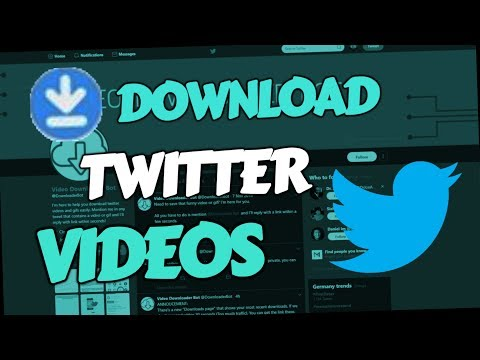 How To Download Twitter Videos 2019 (PC & Android Mobile)