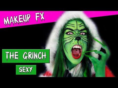 Grinch Halloween Makeup