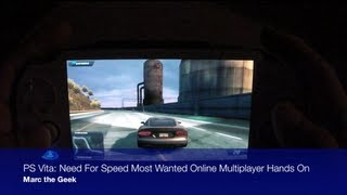 PS Vita - Need for Speed Most Wanted Online Multiplayer Hands On(Here is a look at the Online Multiplayer feature of Need for Speed Most Wanted for the PS Vita. The online feature is working flawlessly, but the maps looks a ..., 2012-10-31T07:52:39.000Z)