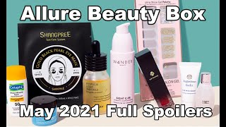 Allure Beauty Box May 2021 FULL SPOILERS + Details