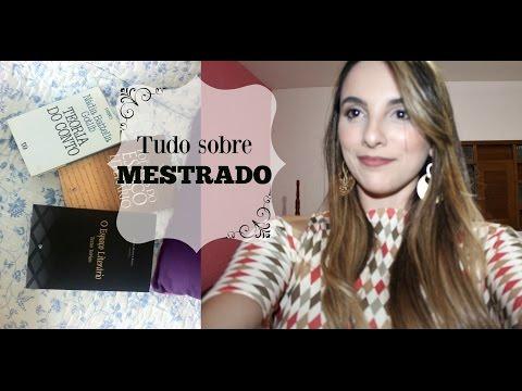 Видео Dissertation de mestrado