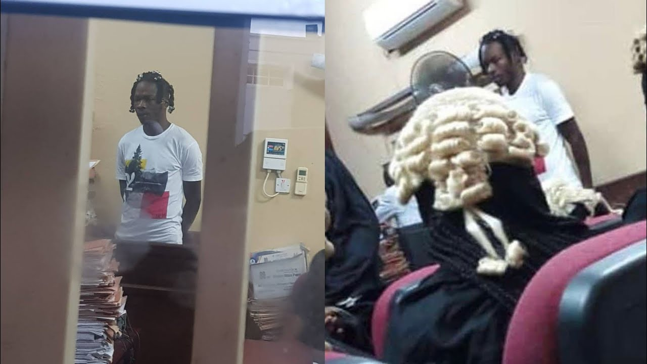CourtDay:- Naira Marley In Tears As He Pleaded Not Guilty