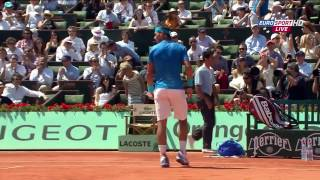 Rafael Nadal vs Andy Murray Roland Garros 2011 SF Highlights HD