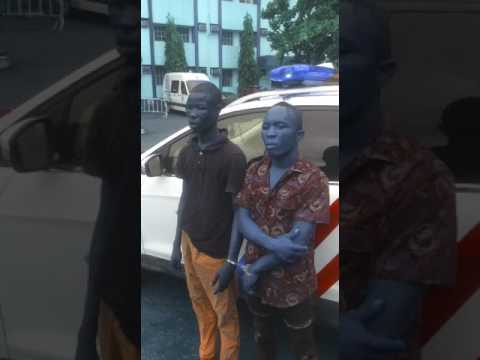RRS Arrest Two Ex-convict After Robbing Truck Driver