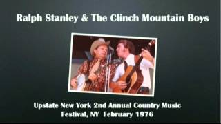 【CGUBA026】Ralph Stanley & The Clinch Mountain Boys February, 1976