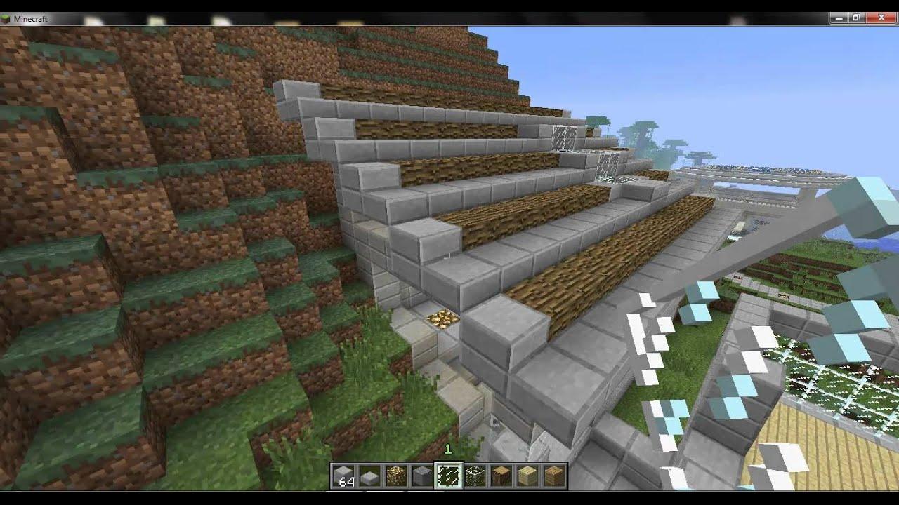 minecraft construction d une maison moderne 3