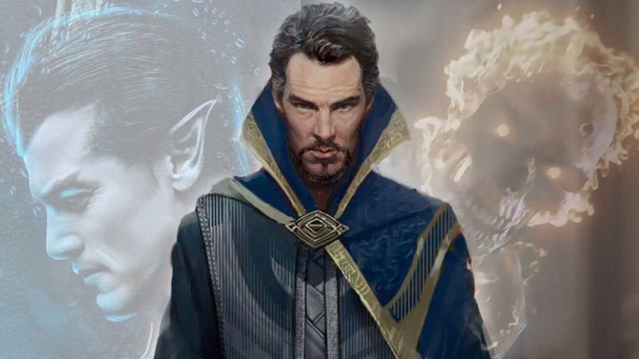 DR STRANGE OFFICIAL NEW CHARACTER REVEALS Multiverse of Madness Namor Reveal