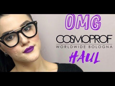 🔥 OMG! HUGE COSMOPROF HAUL!  |  #cosmoprof2018