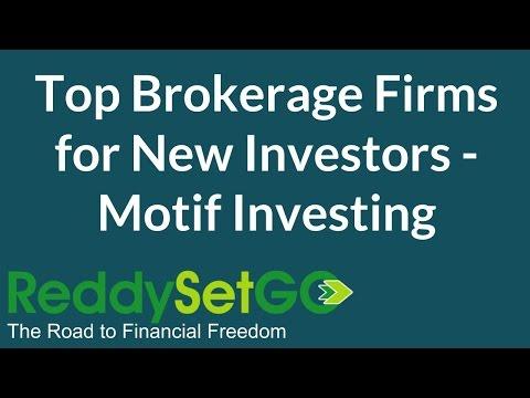 Top Brokerage Firms for New Investors - Motif Investing