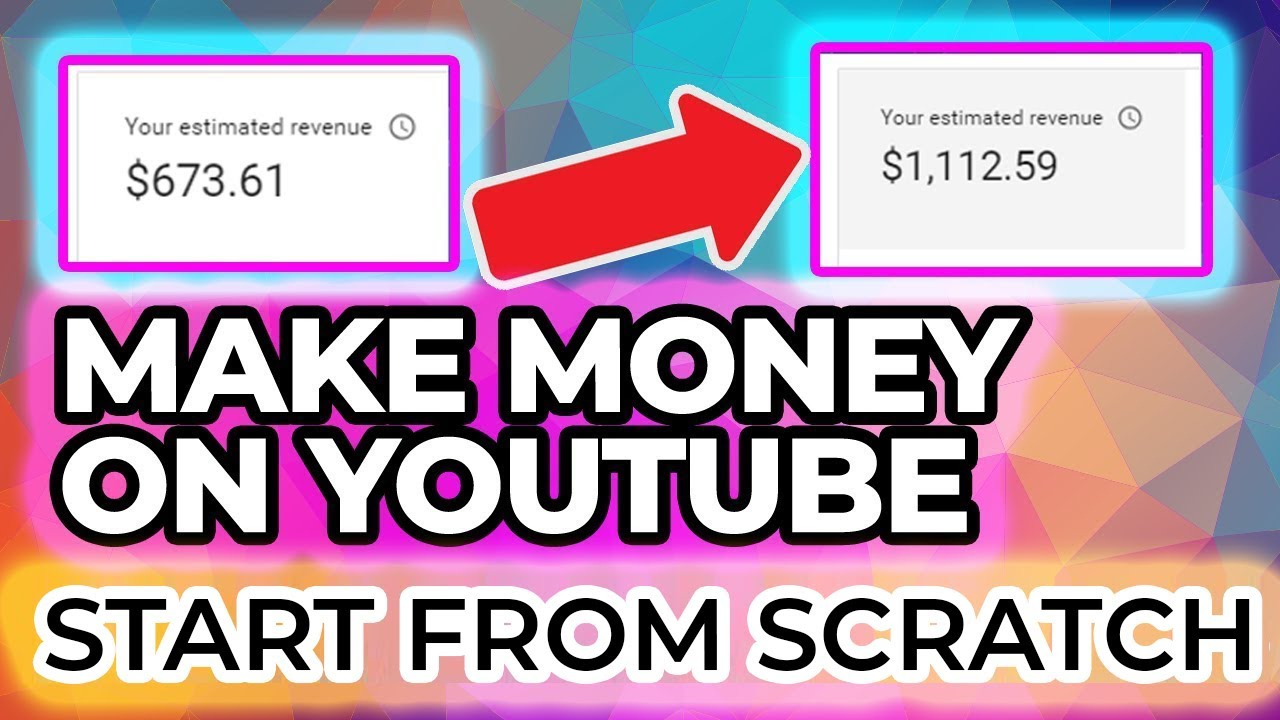 how to make money on youtube easily