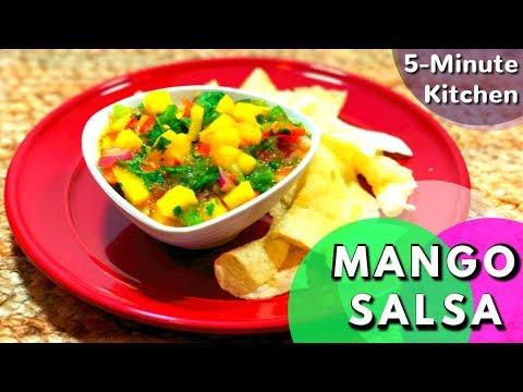 Mango Salsa | Easy & Fresh Mango Tomato Salsa recipe Indian style
