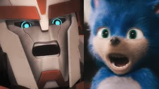 Ratchet Meets Old Movie Sonic