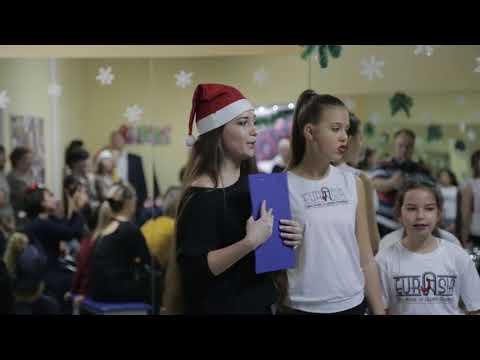 """Новый 2018 год в школе-студии Ксении Пахомовой """"Eurasia"""""""