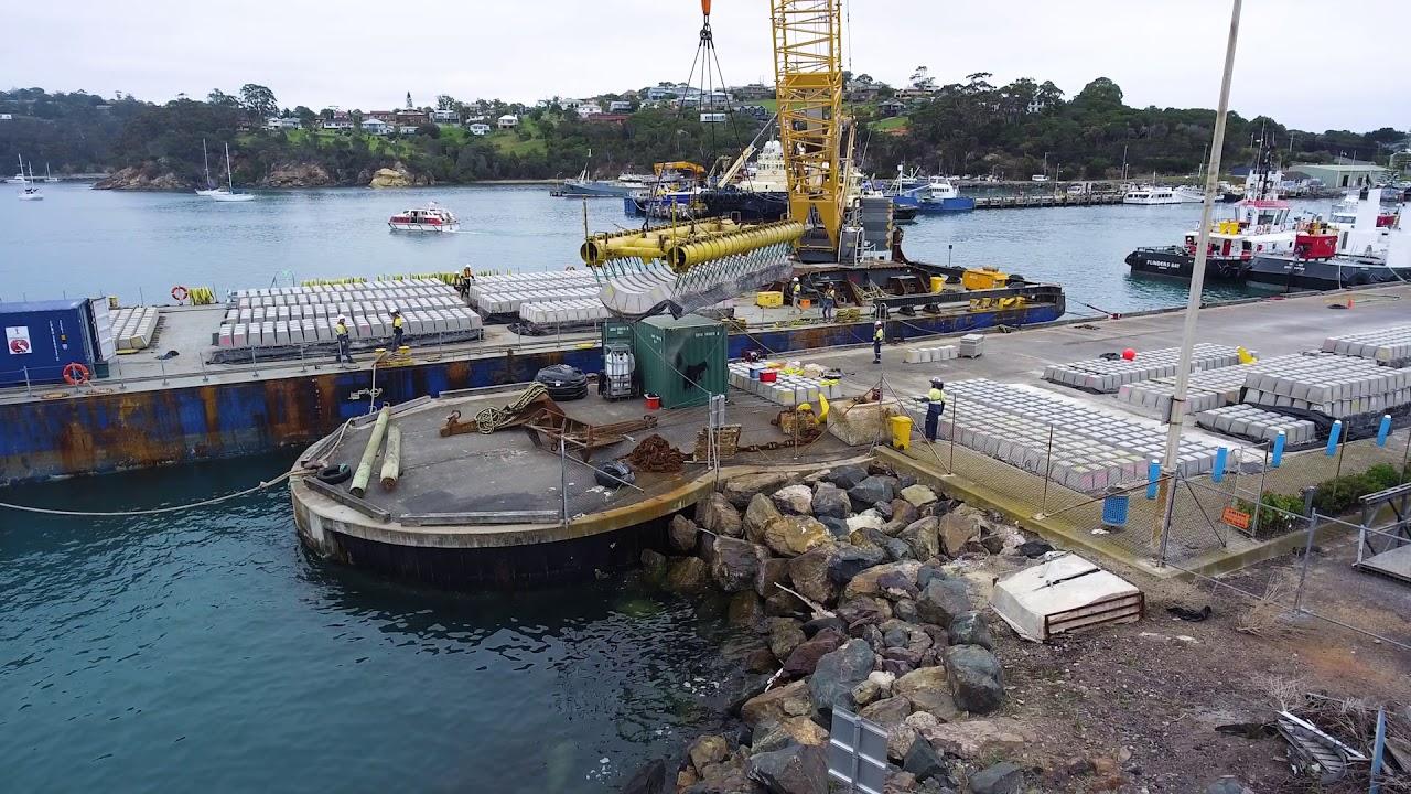 Eden Breakwater Wharf Extension Project - $44M
