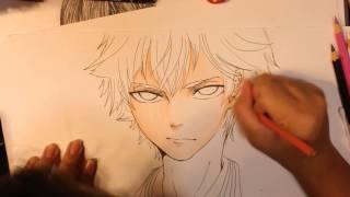 Drawing Hinata Shoyou from Haikyuu!