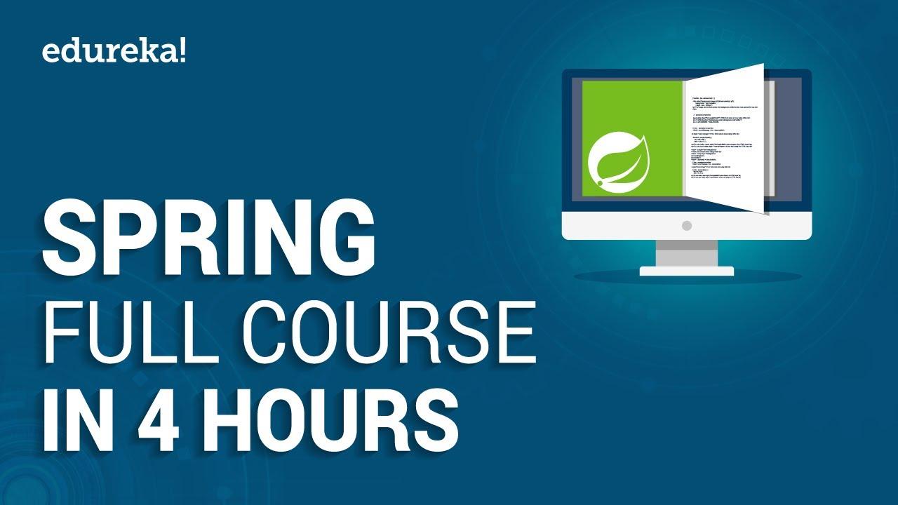 Spring Full Course - Learn Spring Framework in 4 Hours | Spring Framework Tutorial