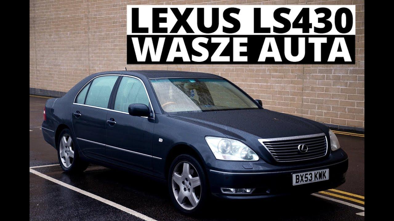 lexus ls430 2004 wasze auta test 10 tomek youtube. Black Bedroom Furniture Sets. Home Design Ideas