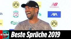 Welttrainer Jürgen Klopp: Seine besten Sprüche 2019