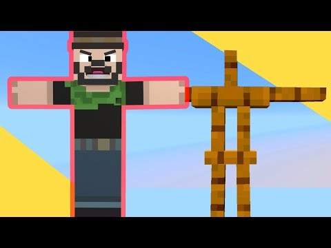 This Is The COOLEST ARMOR STAND MAP! Minecraft Funny Moments!