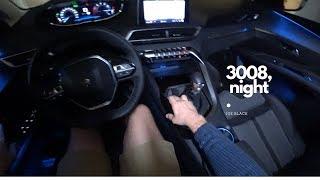 Peugeot 3008 (night) 4K | POV Test Drive