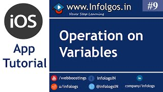 Operations on Variables in xCode - Tutorial 9