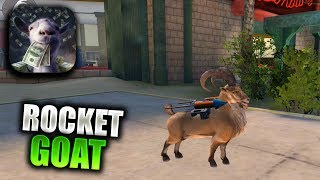 GOAT SIMULATOR PAYDAY Walkthrough Gameplay Part 2 - Rocket Goat & Drill for Cheese (iOS Android)