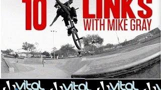 Mike Gray: 10 freecoaster links at Poway by VitalBMX