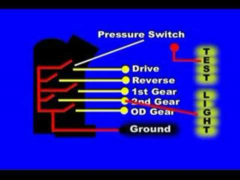 isuzu navigation wiring diagram transmission range or neutral switch youtube
