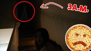 DO NOT MAKE PIZZA AT 3 A.M.!!!! Ghosts!!!
